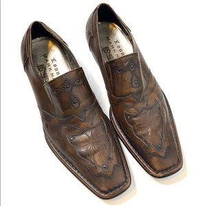 Lounge by Mark Nason Leather Loafers Size 12